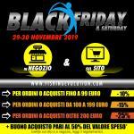 Black Friday 2019 (Ven.29 e Sab.30) Sito e Negozio
