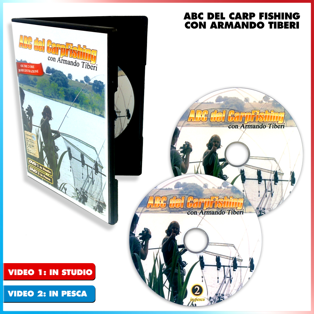 ABC del Carp Fishing con Armando Tiberi 2/2 (In Pesca)