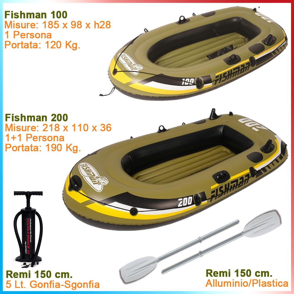 Fishman Canotto Jilong In E 11 Mare Da CampeggioPrezzo € 90 5j4RLc3Aq