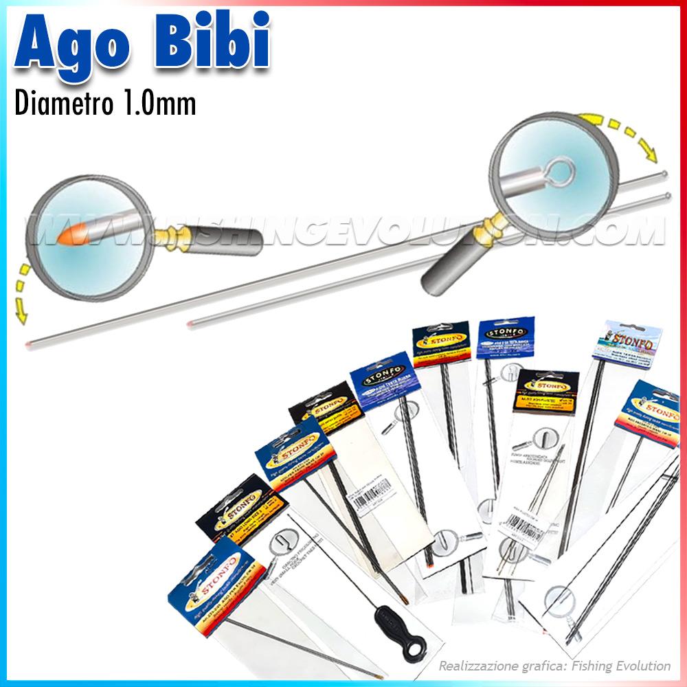 Art.456 Ago da Bibi (5 pz)
