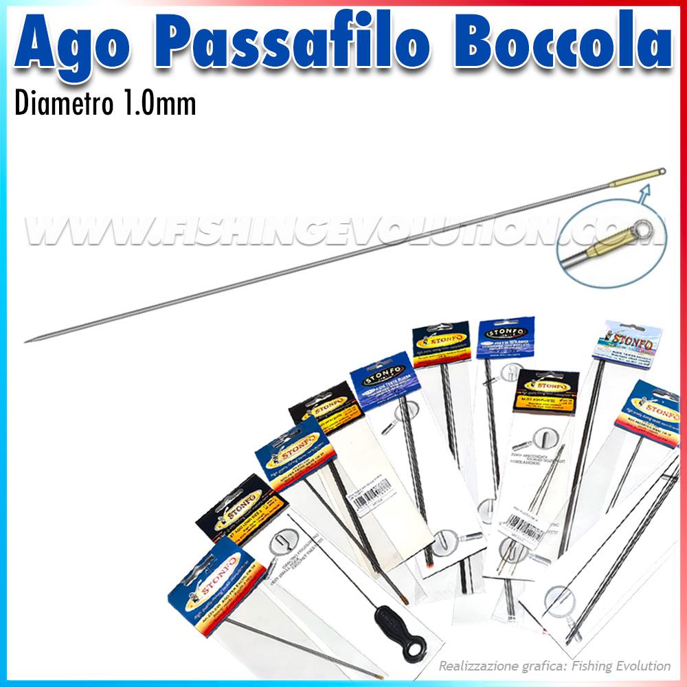 Art.223 Aghi Inox con Boccola Posteriore (2 pz)