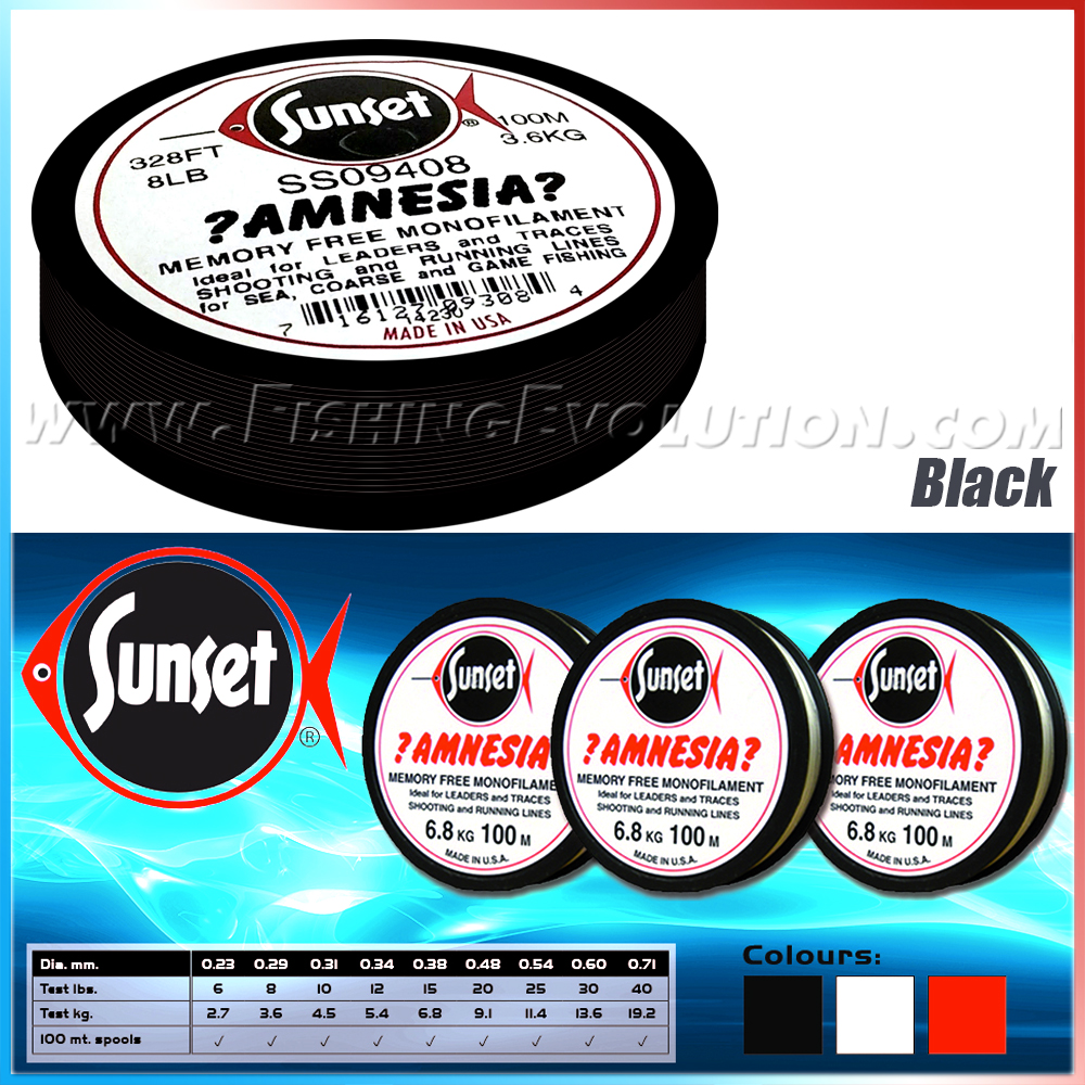 Amnesia Black 100 mt.