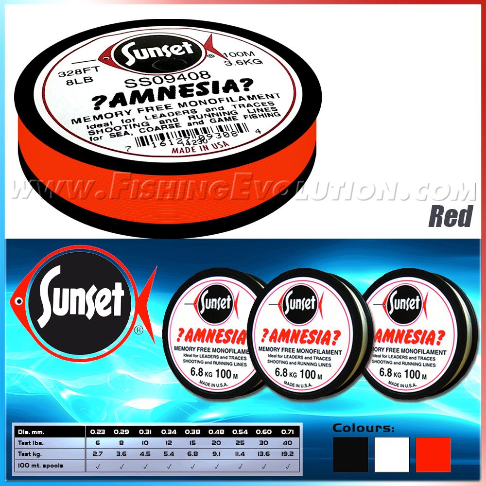 Amnesia Red 100 mt.