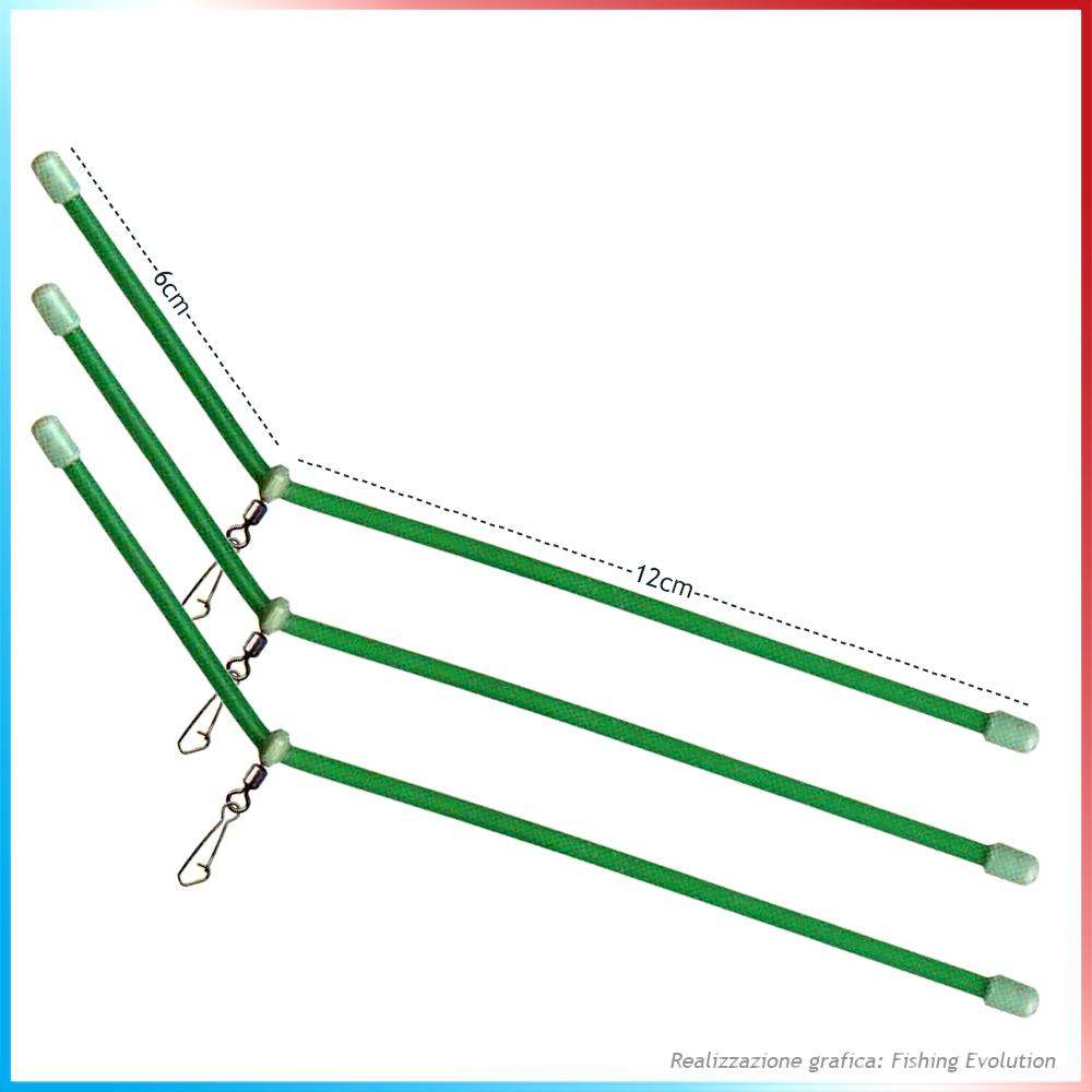 Divergente in plastica Strong Antitangle 18cm (3pz)