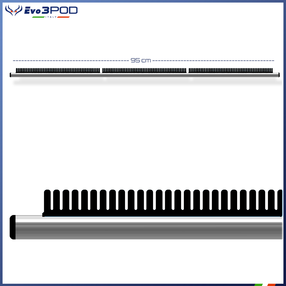 Evo3pod Barra stendi travi frontale 95 cm basic