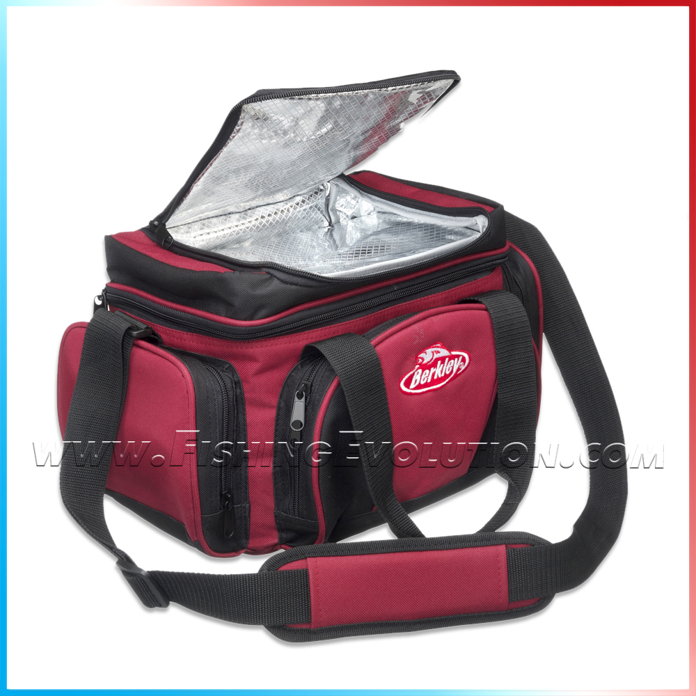 System Bag L Red-Black + 4 Boxes (1345042)