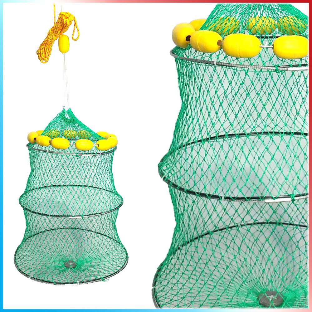 Rete porta pesci galleggiante 3 cerchi