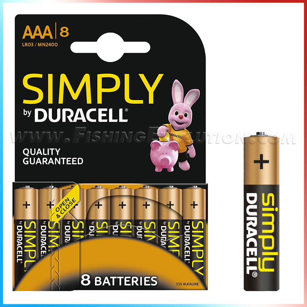 Duracell Mini Stilo AAA 8 pz