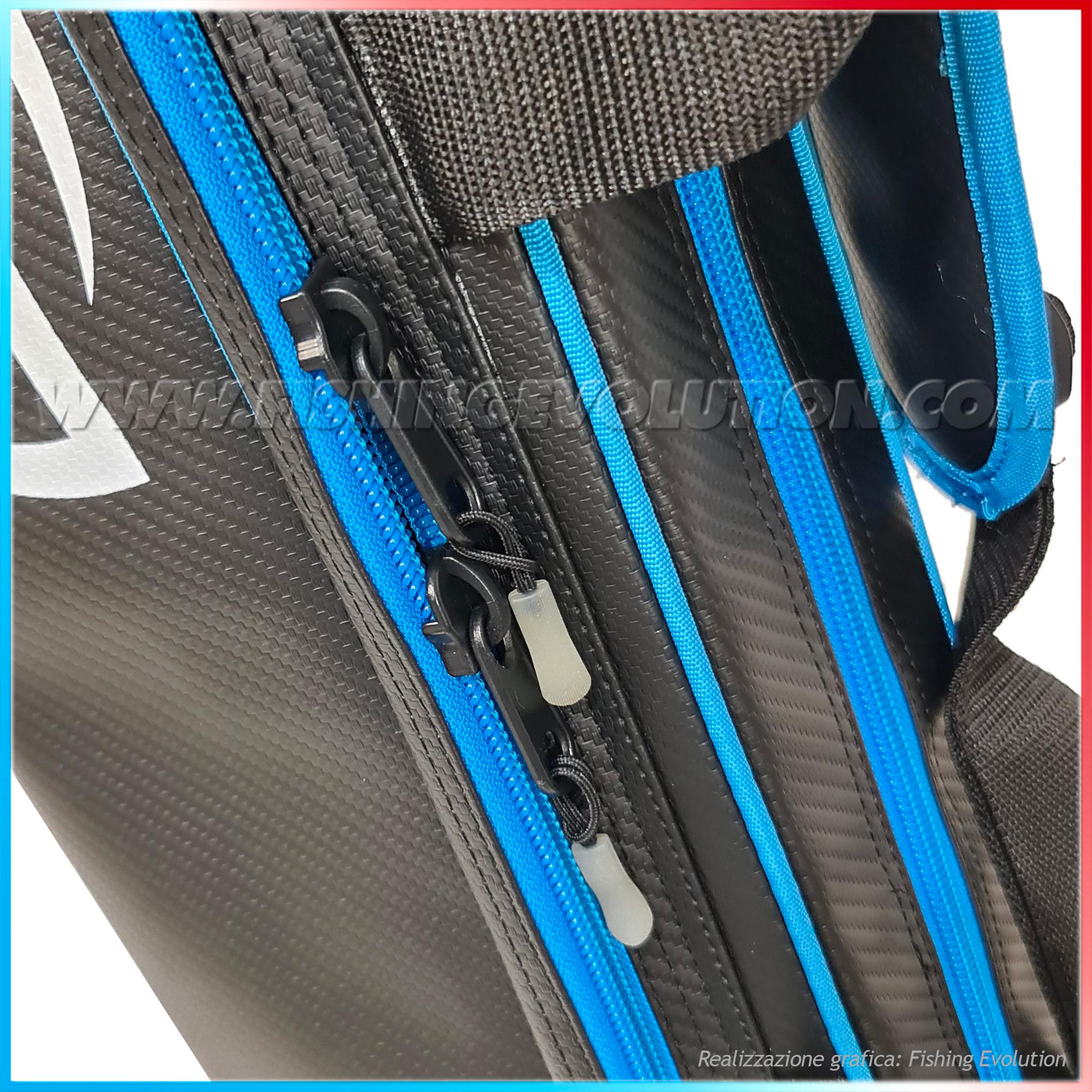 Fodero Porta Canne Rigido con tasca laterale 170cm