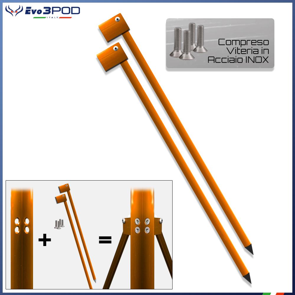 Evo3pod Gambe per picchetto 150 cm elite orange