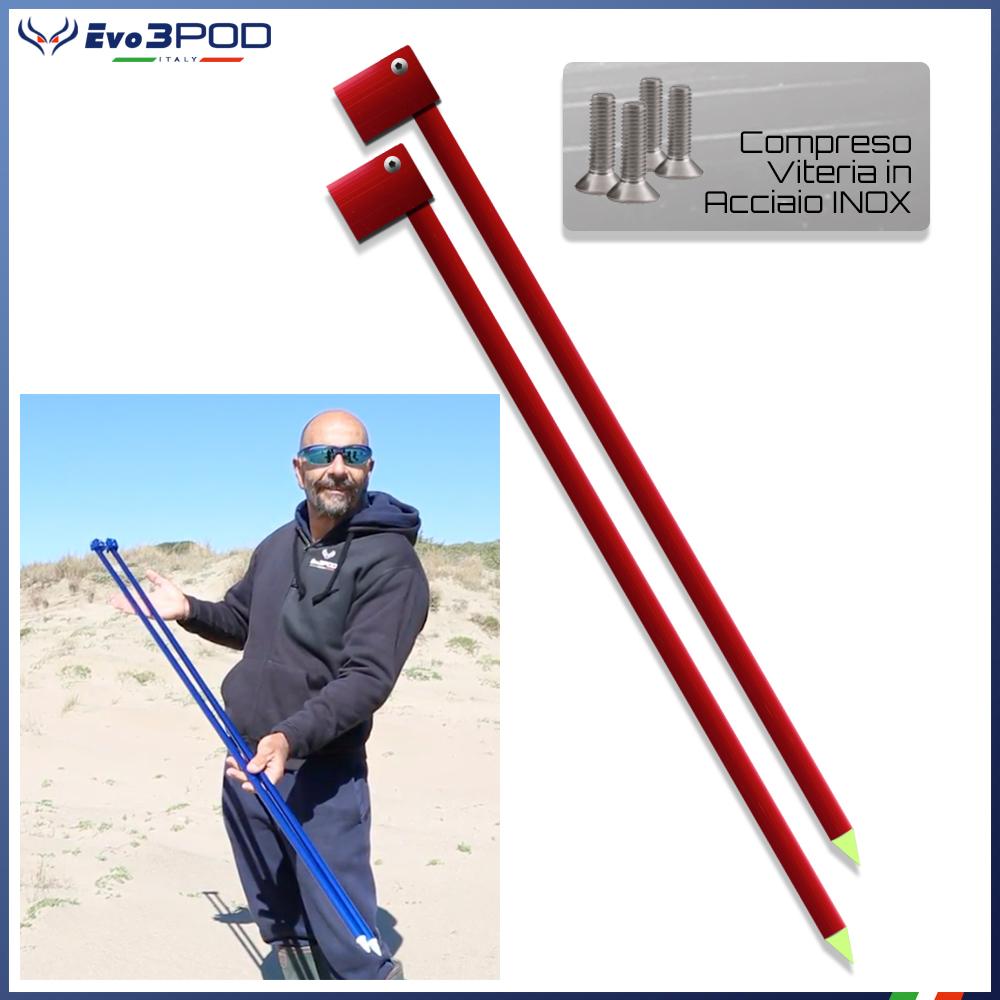 Gambe per Picchetto 150 cm Elite Red