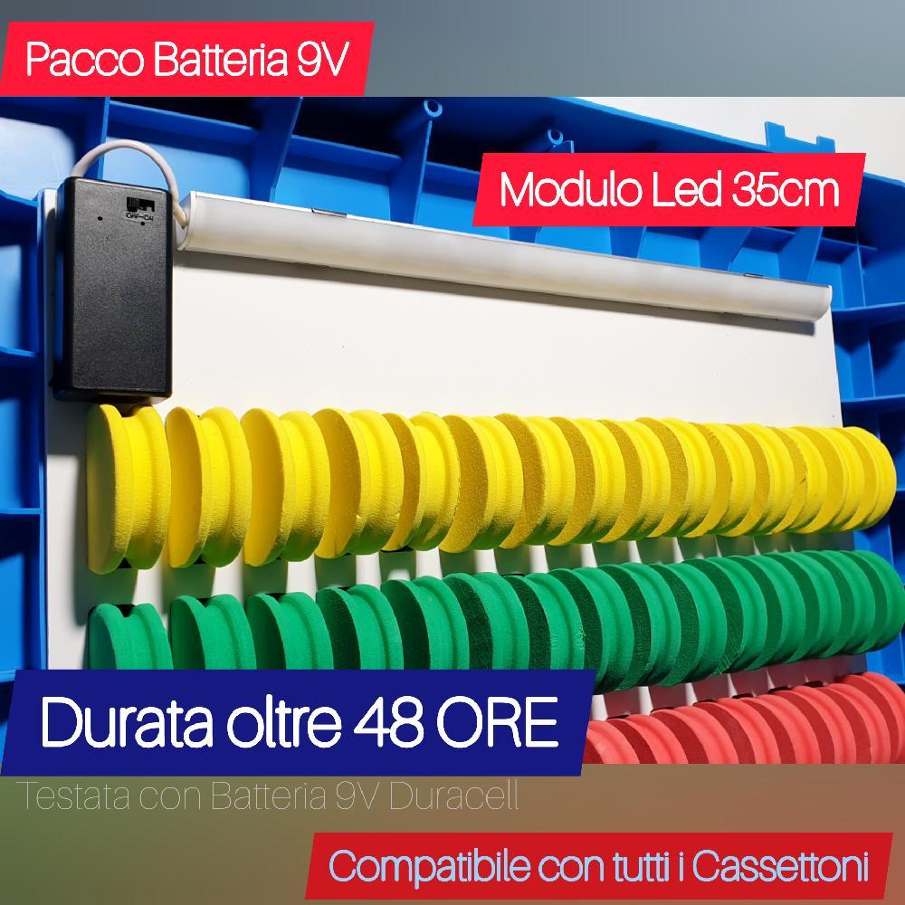 Modulo Luce Led x Cassettoni - Underbox