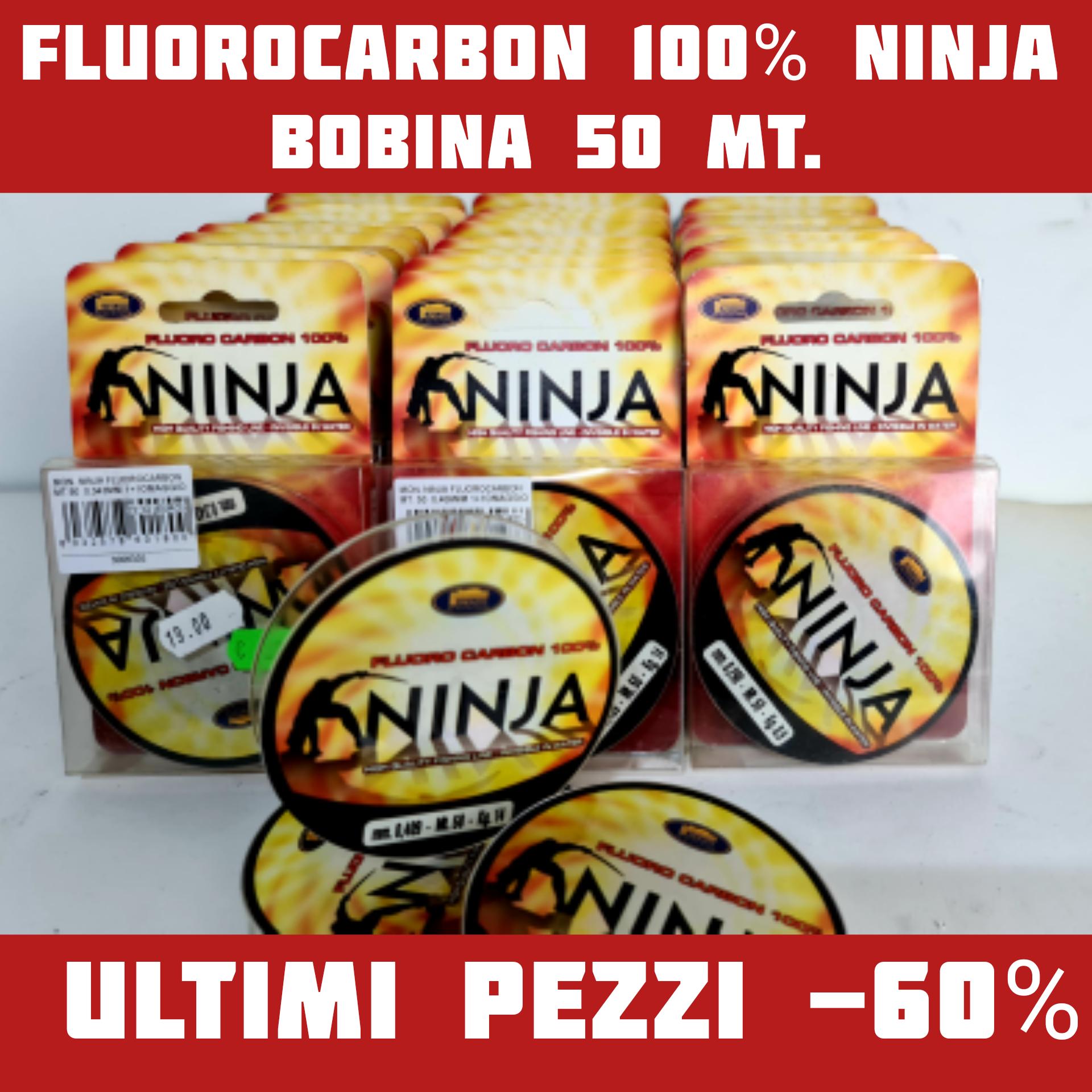Ninja Fluorocarbon 100% -60% Fino ad Esaurimento