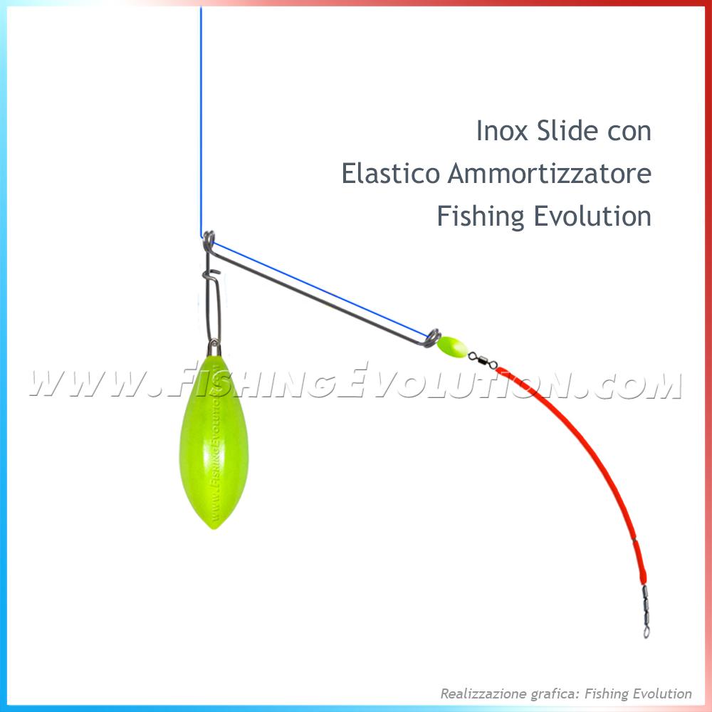 in vendita all'ingrosso outlet in vendita brillante nella lucentezza Pro Fishing Steel Inox Slide in Accessori | Prezzo da € 5.90