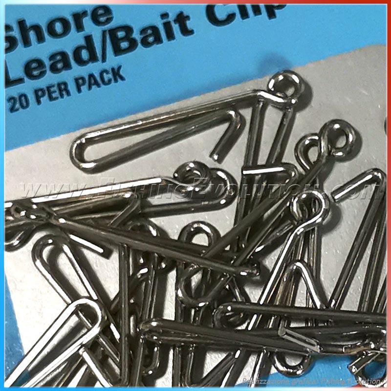 Shore Lead-Bait Clip (20pz)