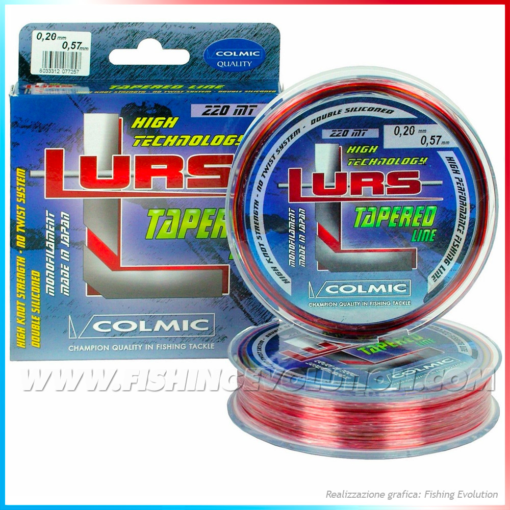 Lurs Tapered Line 220mt