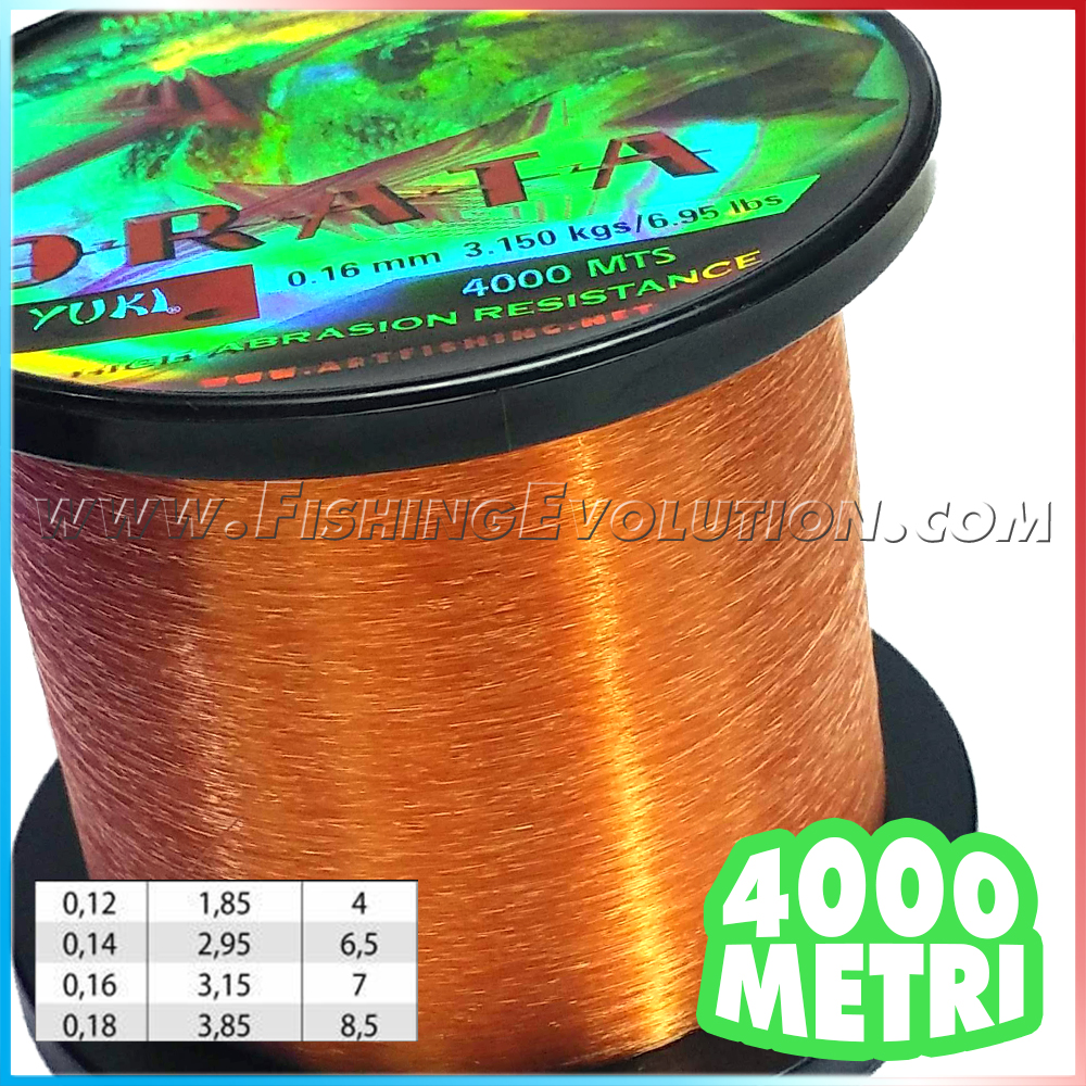 Nylon Orata 4000 mt.