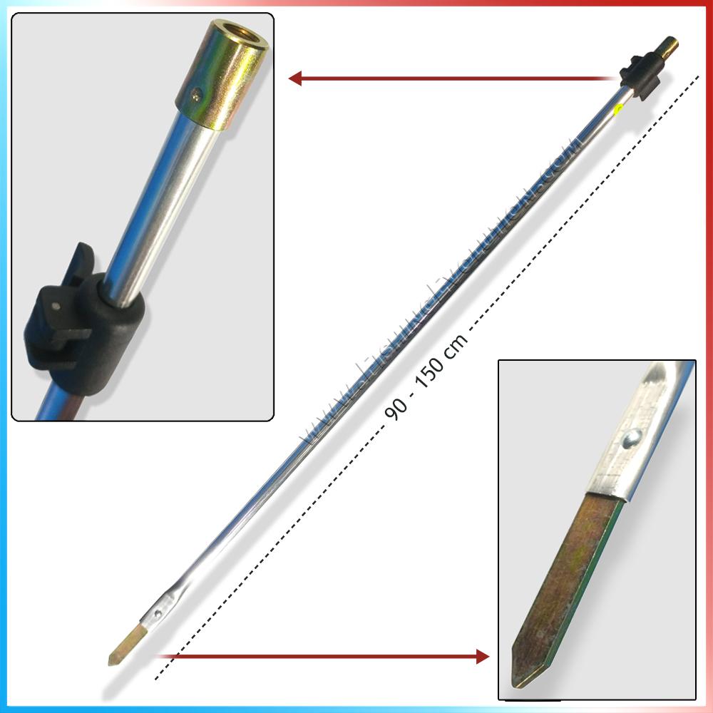Import Picchetto a paletto telescopico 90-130 cm