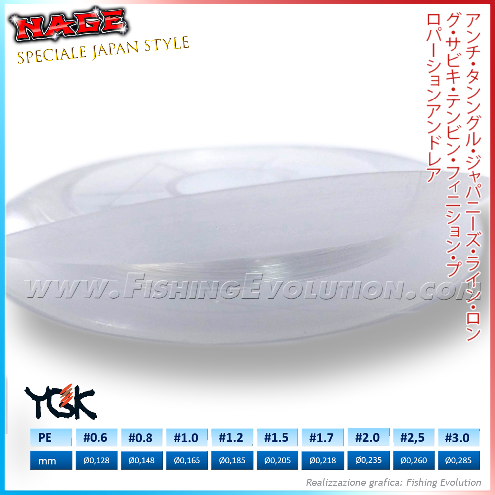 YGK Terefuta - Filo Poliestere 100% Clear