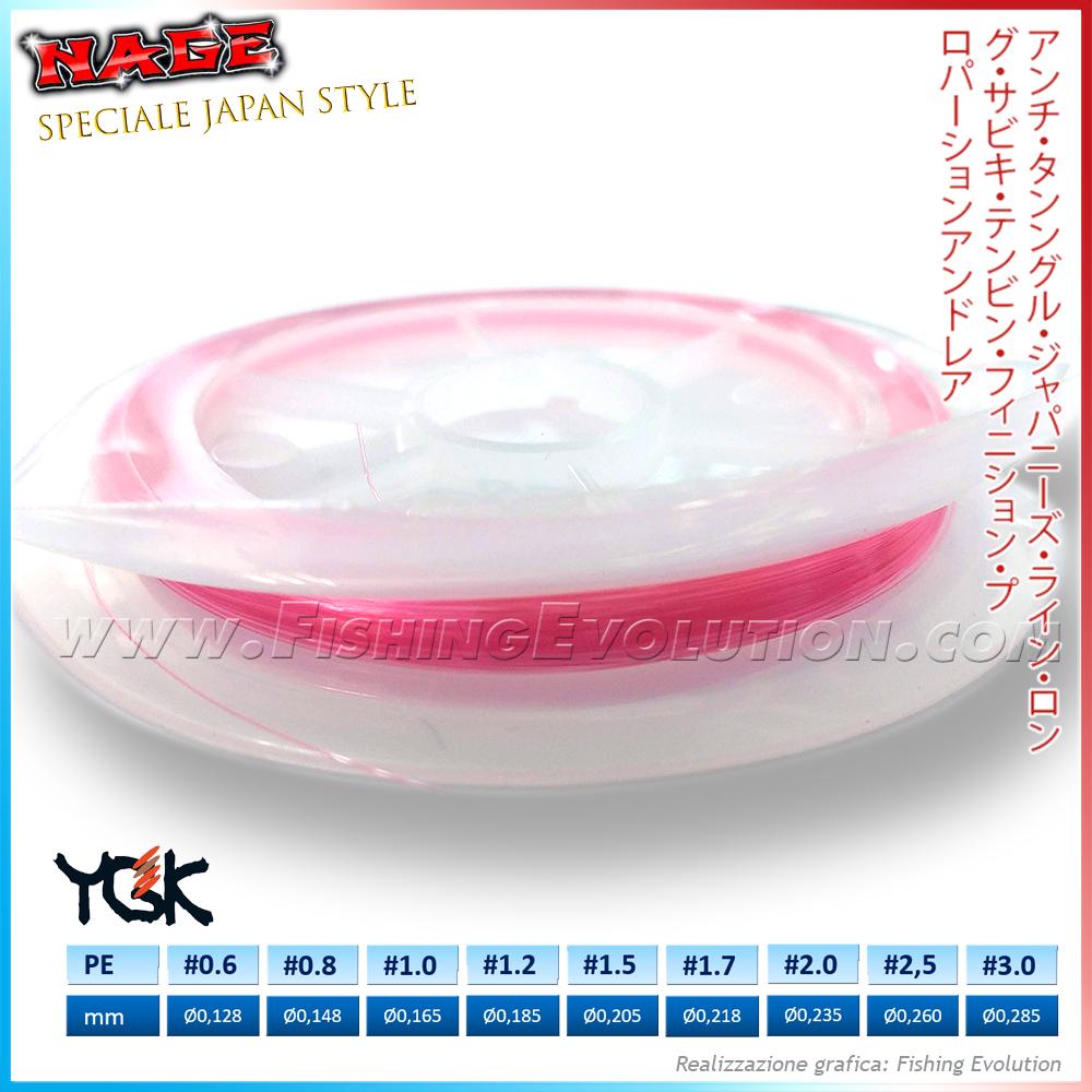 YGK Terefuta - Filo Poliestere 100% Pink