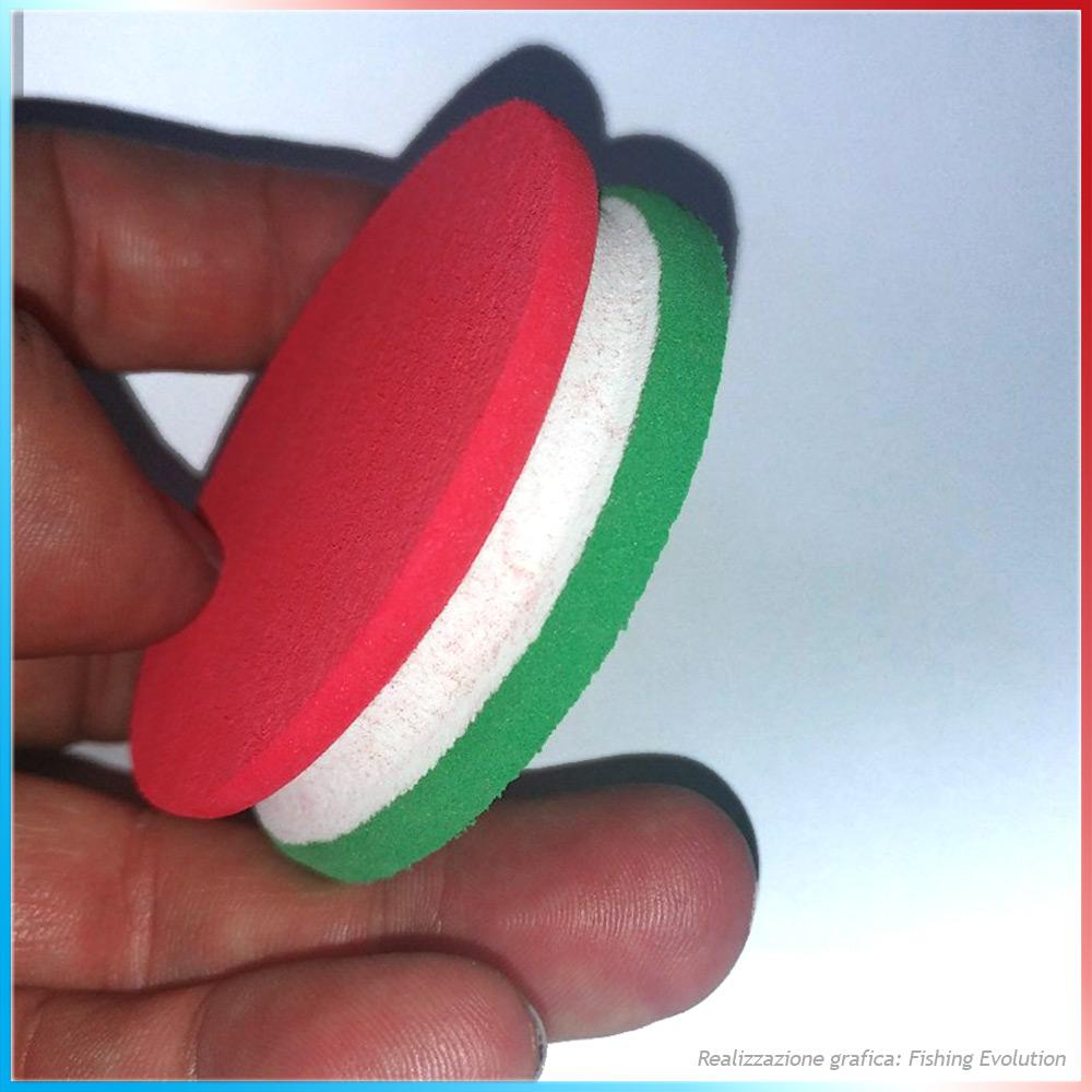 Ruzzola Tricolore Verde-Bianco-Rosso (Italy)