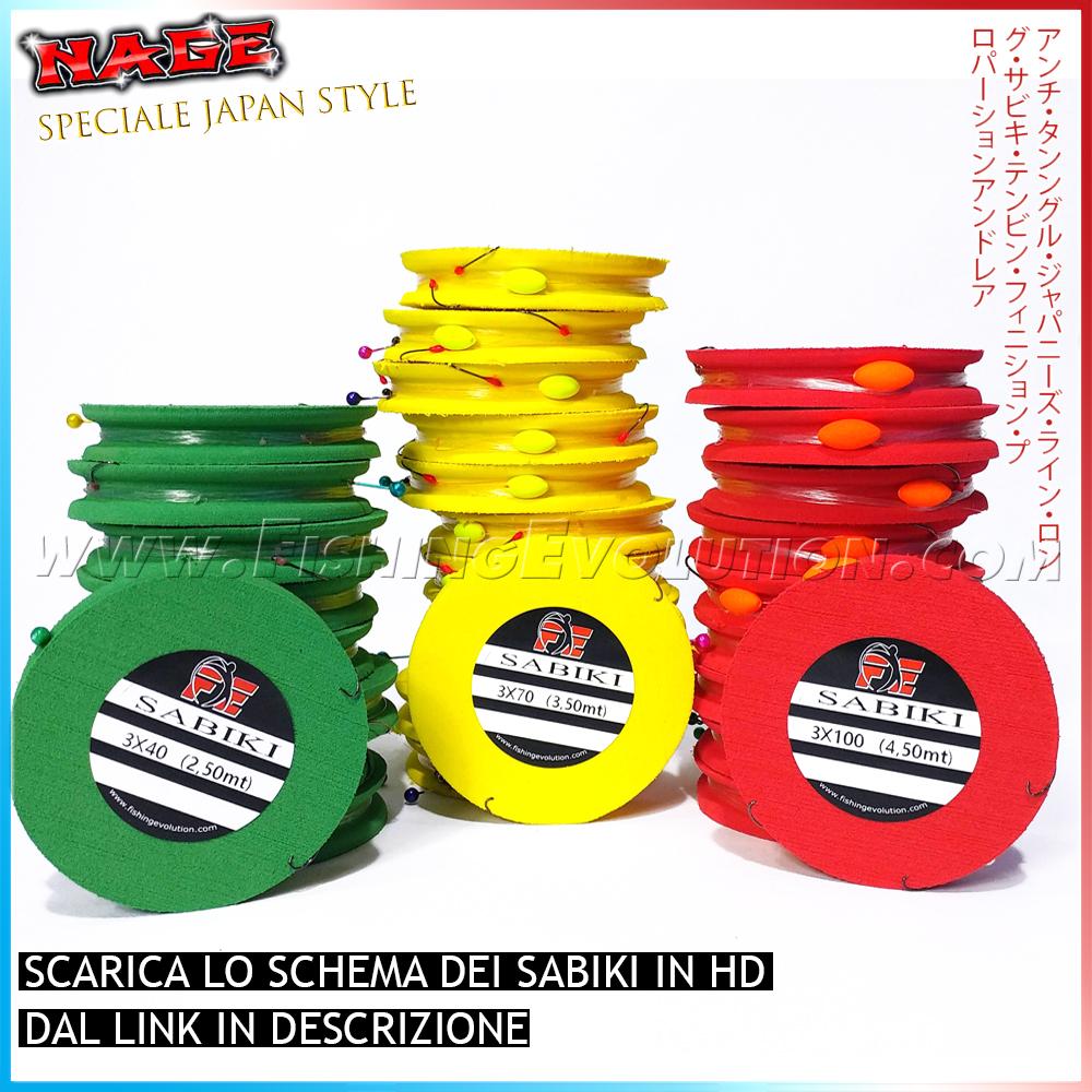 Sabiki Montato Serie Japan Style (NAGE)