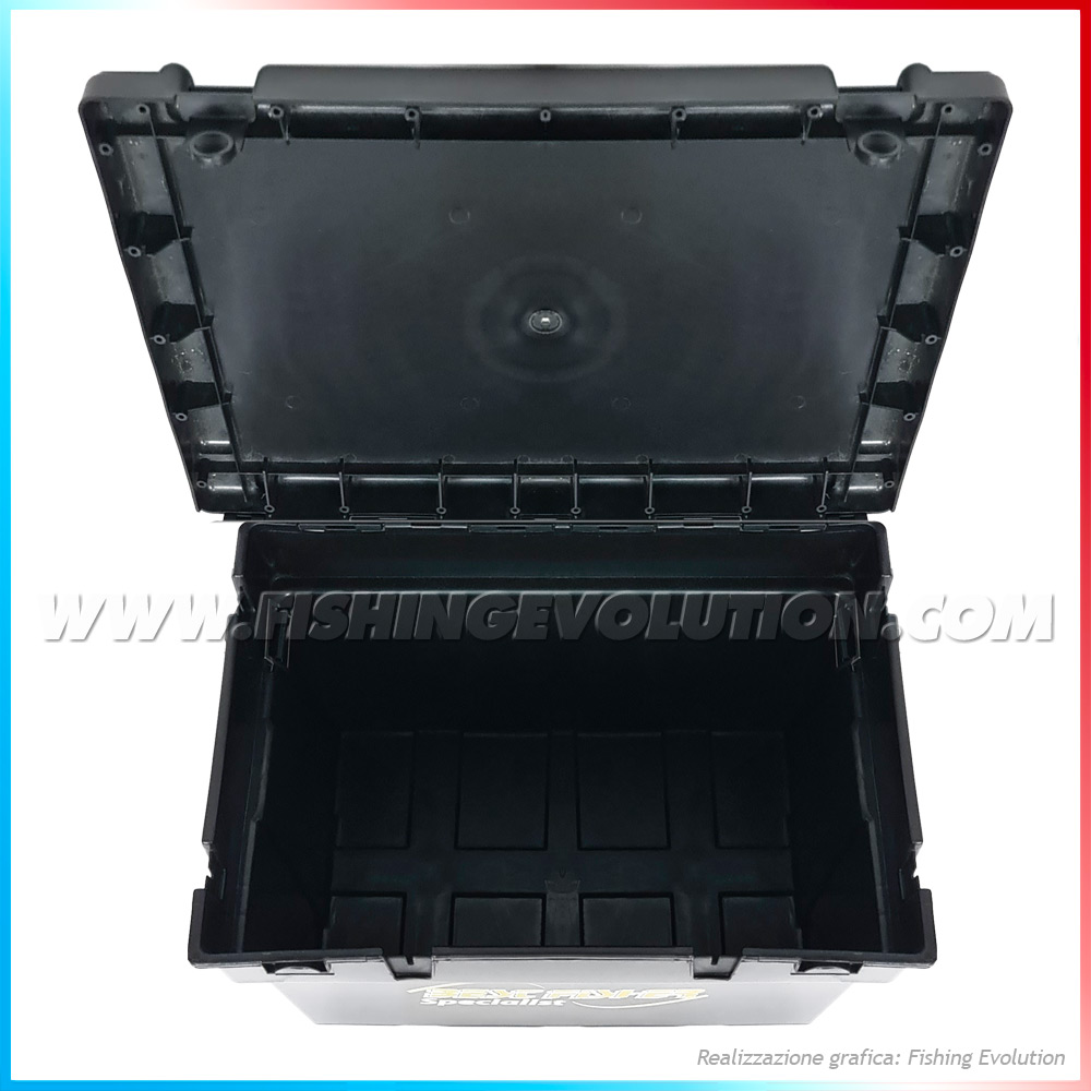 Seat Box Big Black con Cuscino e Tracolla