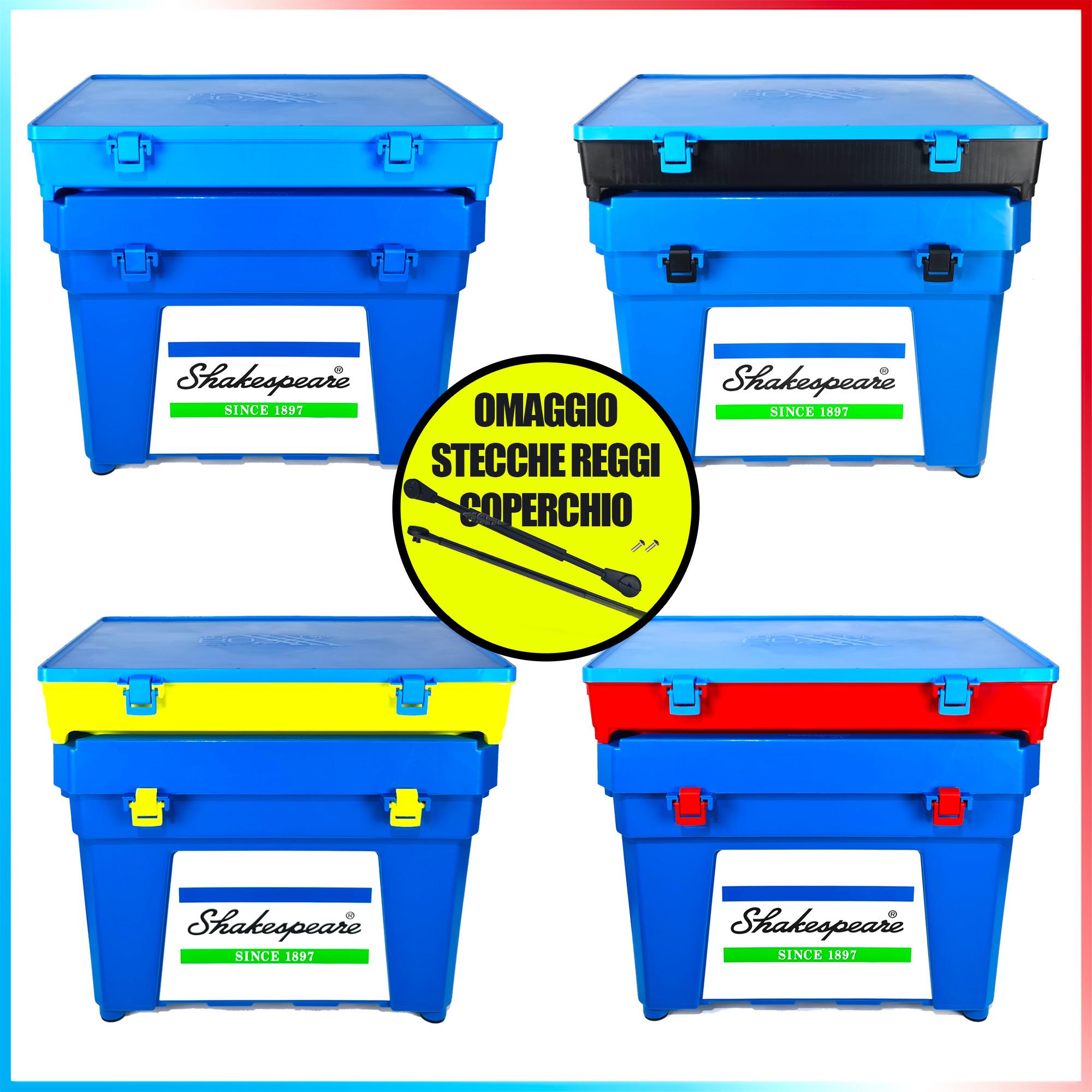 Fishing evolution Combo seat box shakespeare blu top boxxx evo stecche