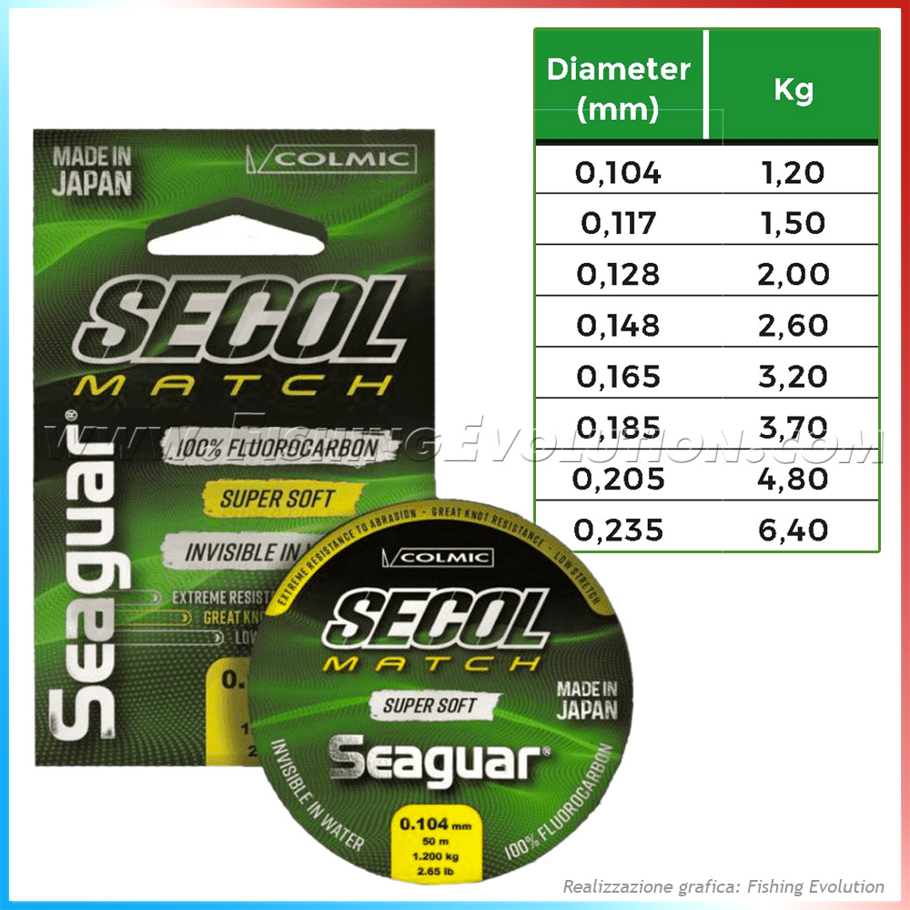 Seaguar - Secol Match Super Soft