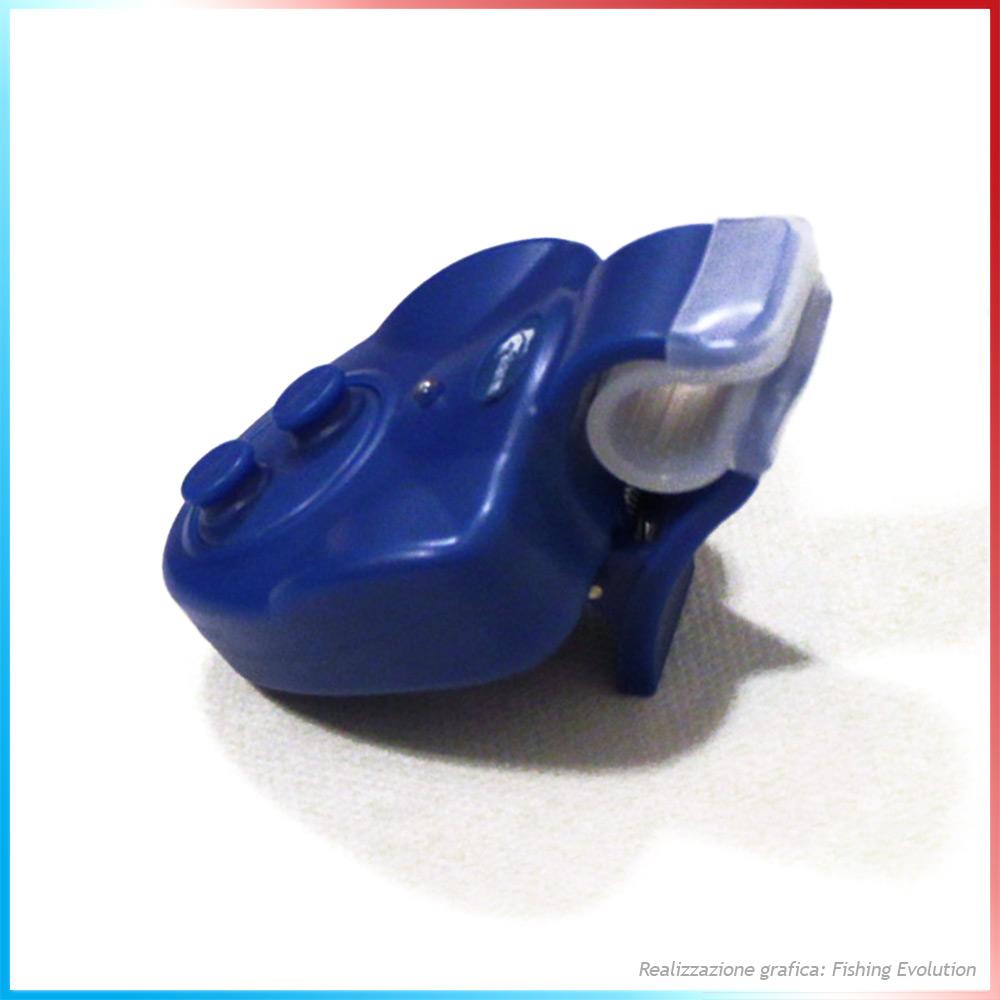 Segnalatore d'abboccata Led Blu