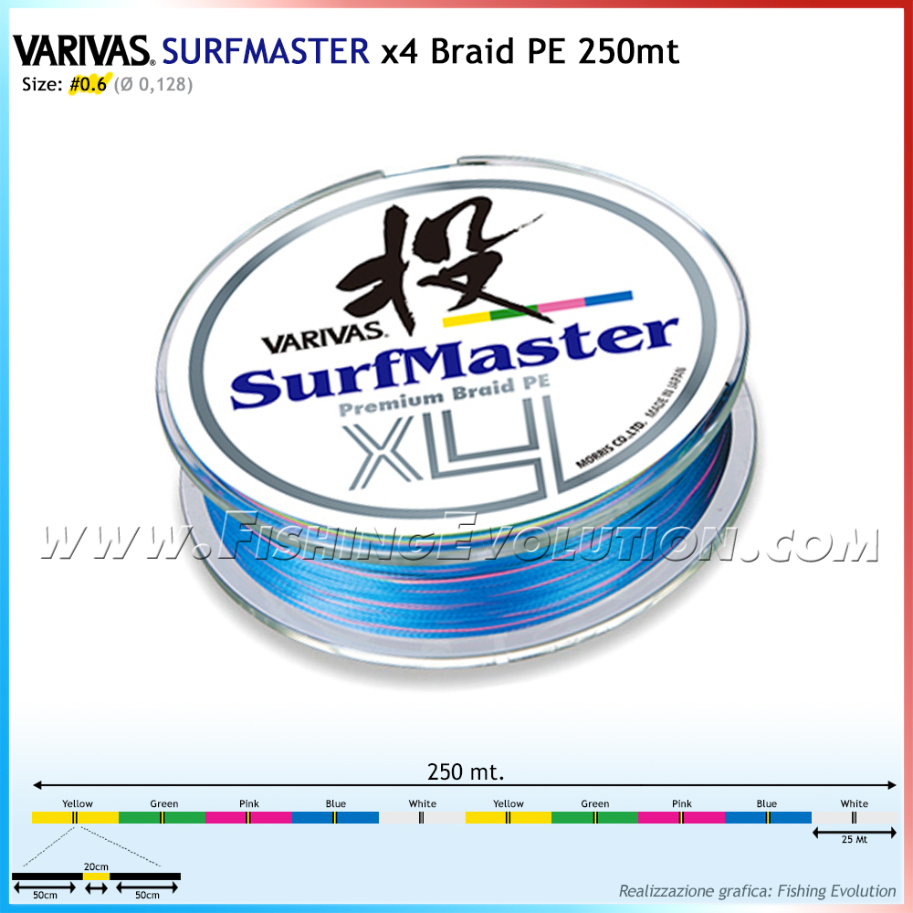 SurfMaster X4 Braid PE