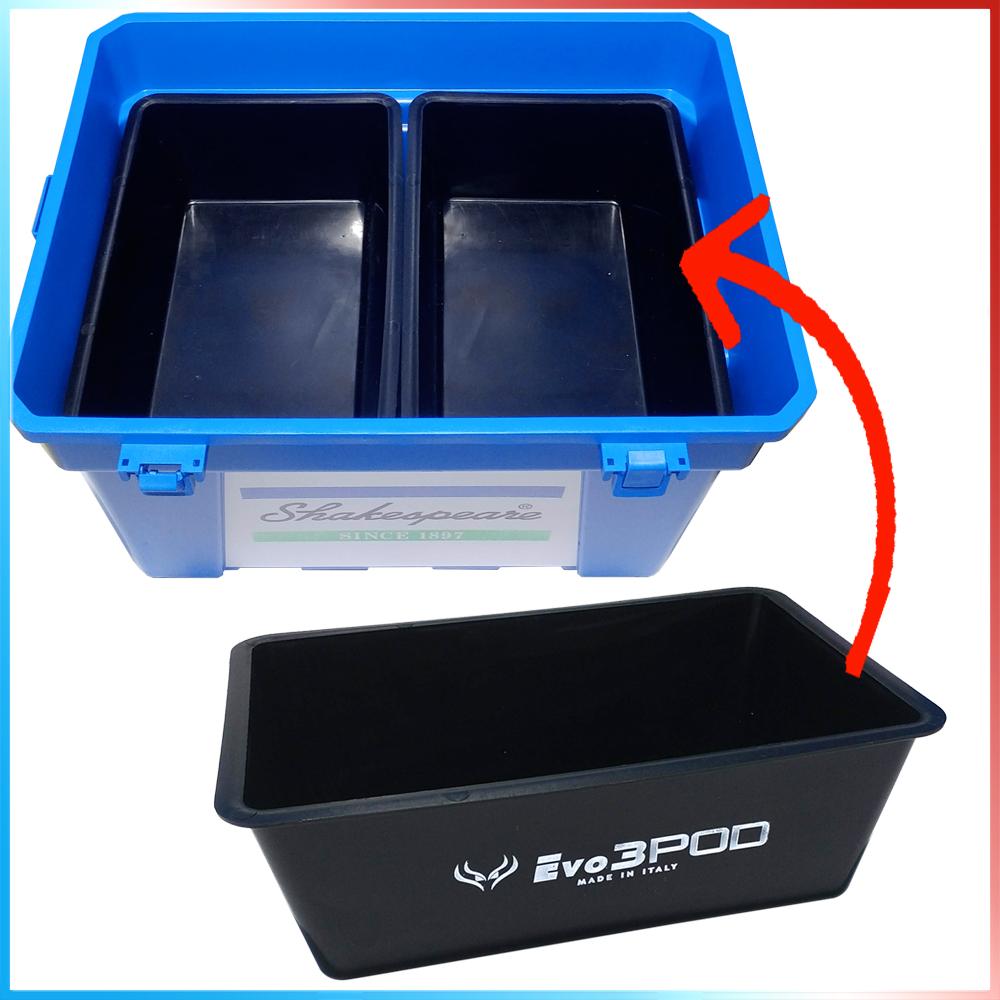 Evo3pod Vaschetta plastica 33x22