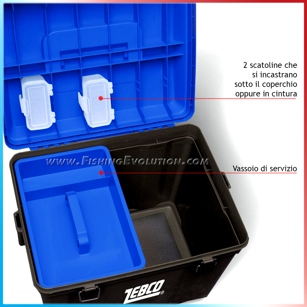 Zebco Seat box big storer
