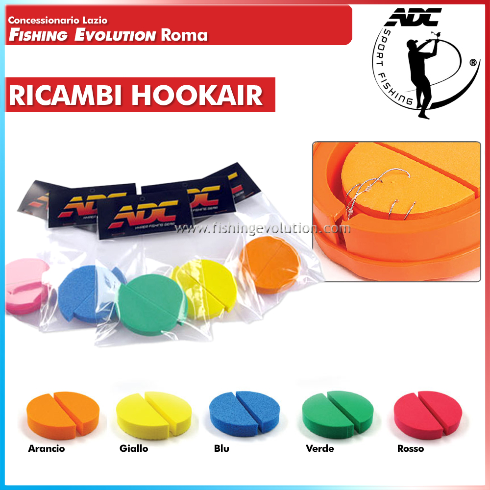 Spugnette Ricambio Hook Air