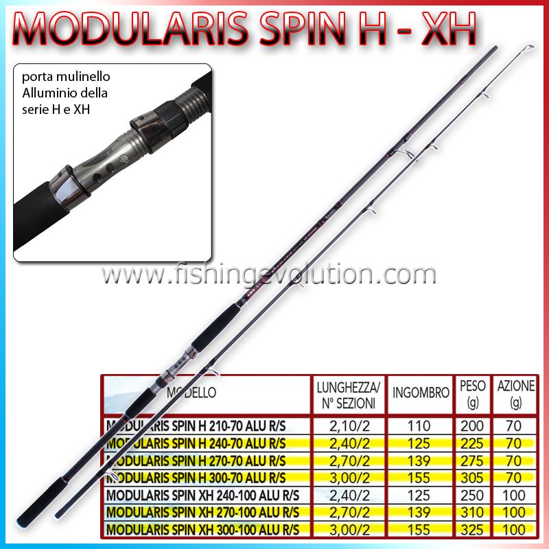 Modularis Spin H & XH