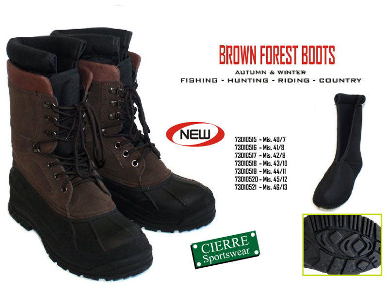 Brown Forest Boot