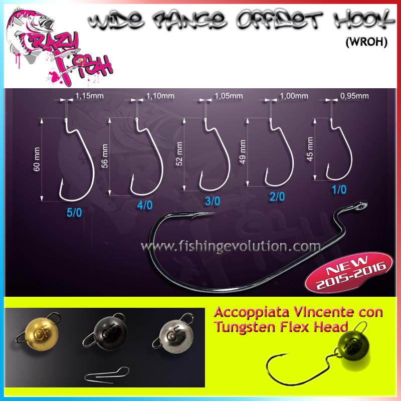 Amo Wide Range Offset Hook (WROH)