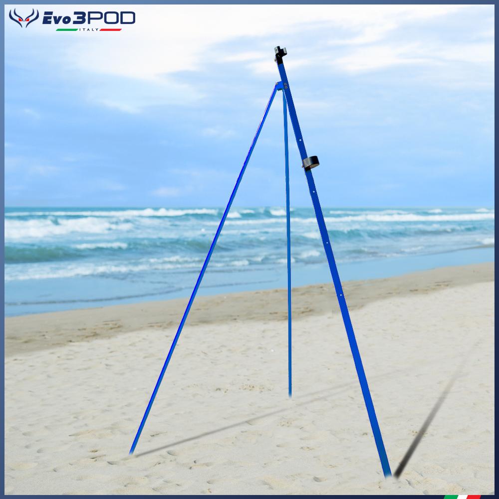Anodised Single Leg Tripod 200 cm Blue