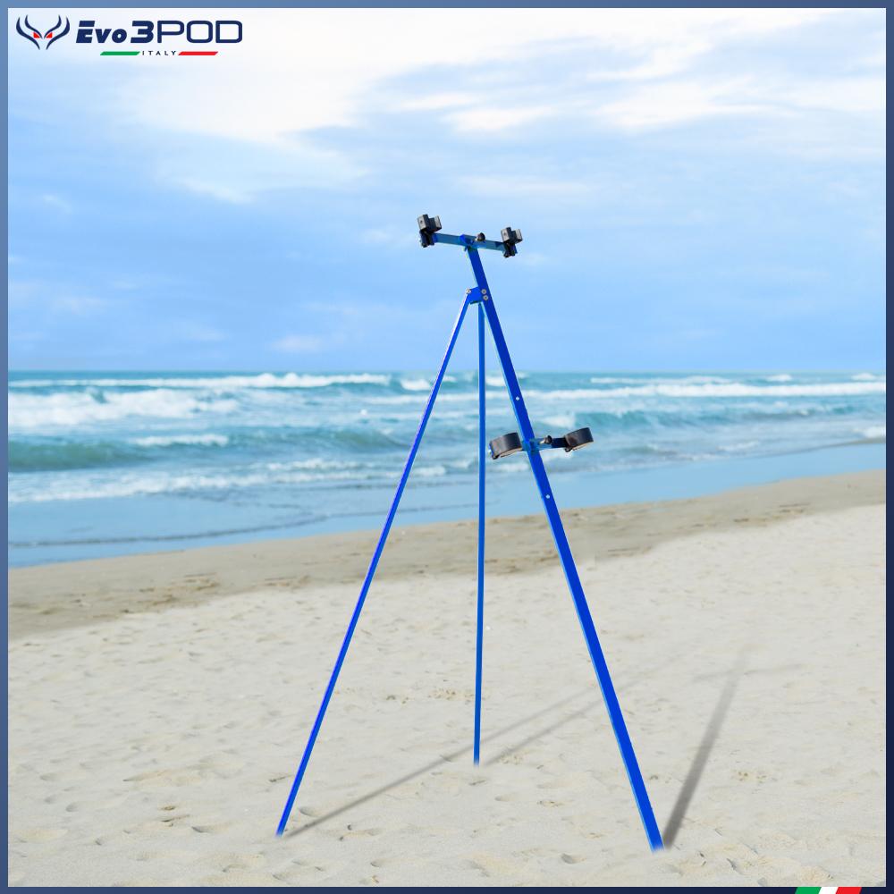 Tripode Doppia Canna Elite 150 cm Blue