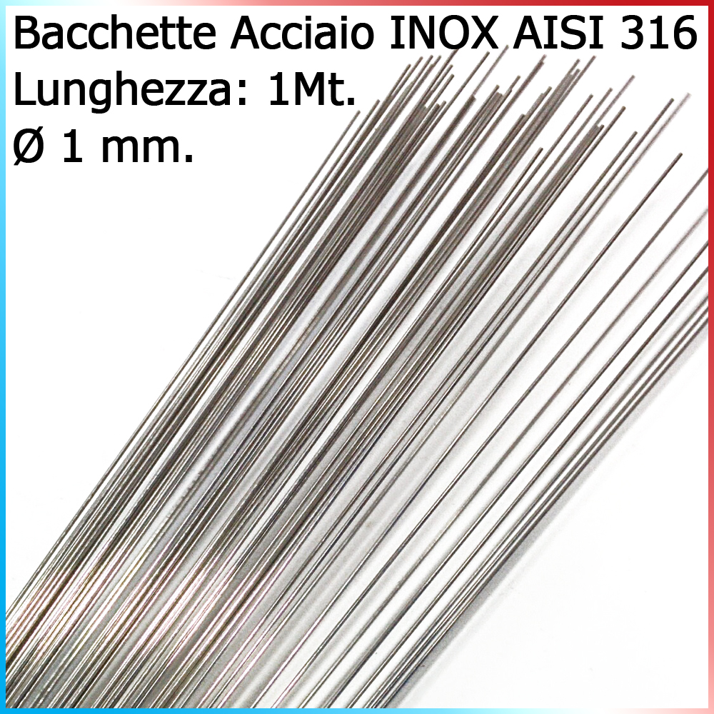 Fishing evolution Bacchette acciaio inox 316
