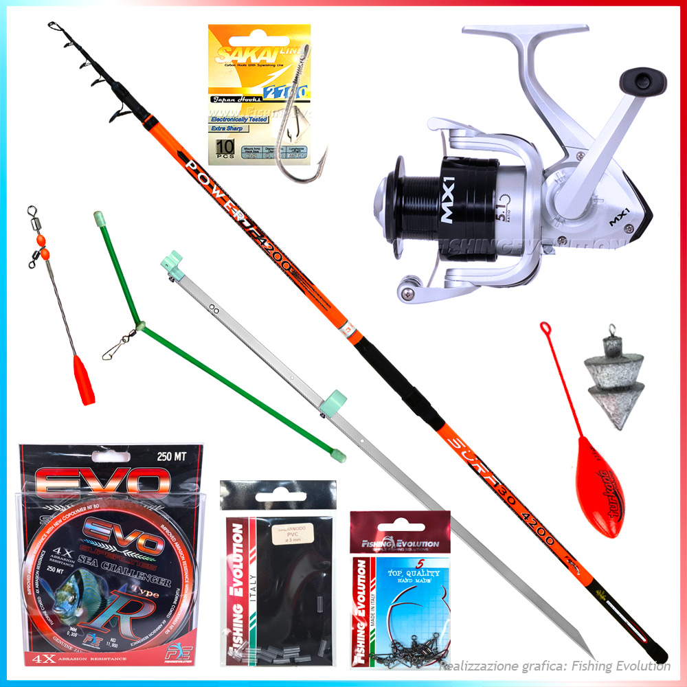 Fishing evolution Combo surfcasting fe0240