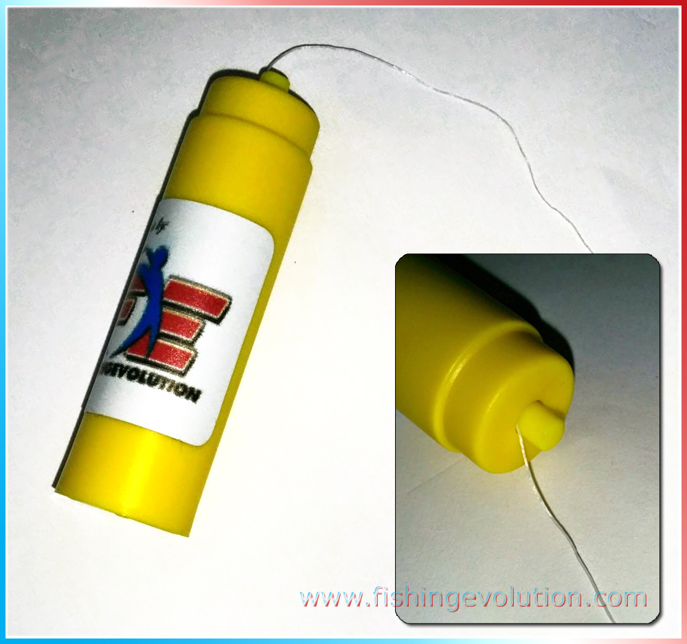 Filo Elastico Dispenser Giallo