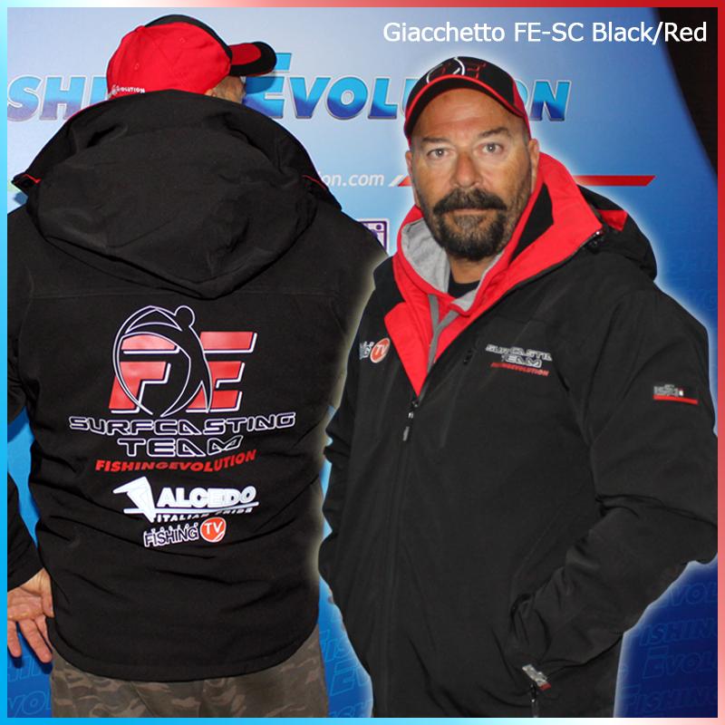 Giacchetto FE-SC Black/Red