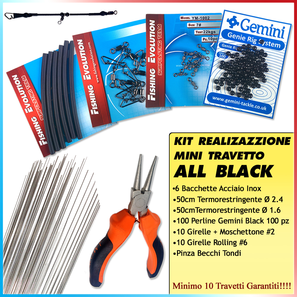 Kit Realizzazione Mini Travetto All Black