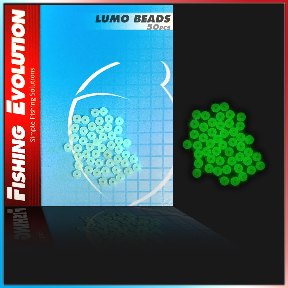 Fishing evolution Lumo beads 50 pz