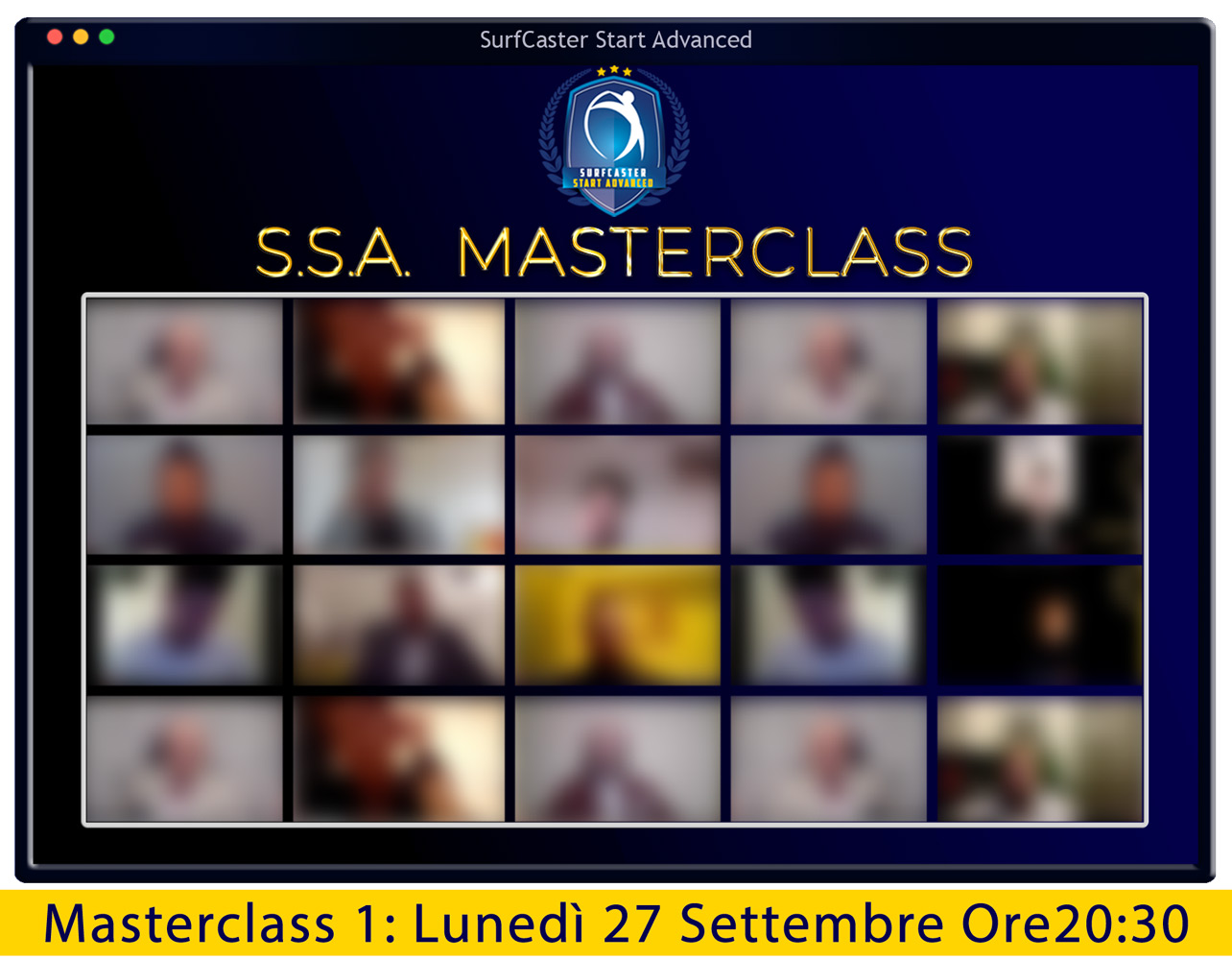 Masterclass SSA 1 (27 Settembre 2021)