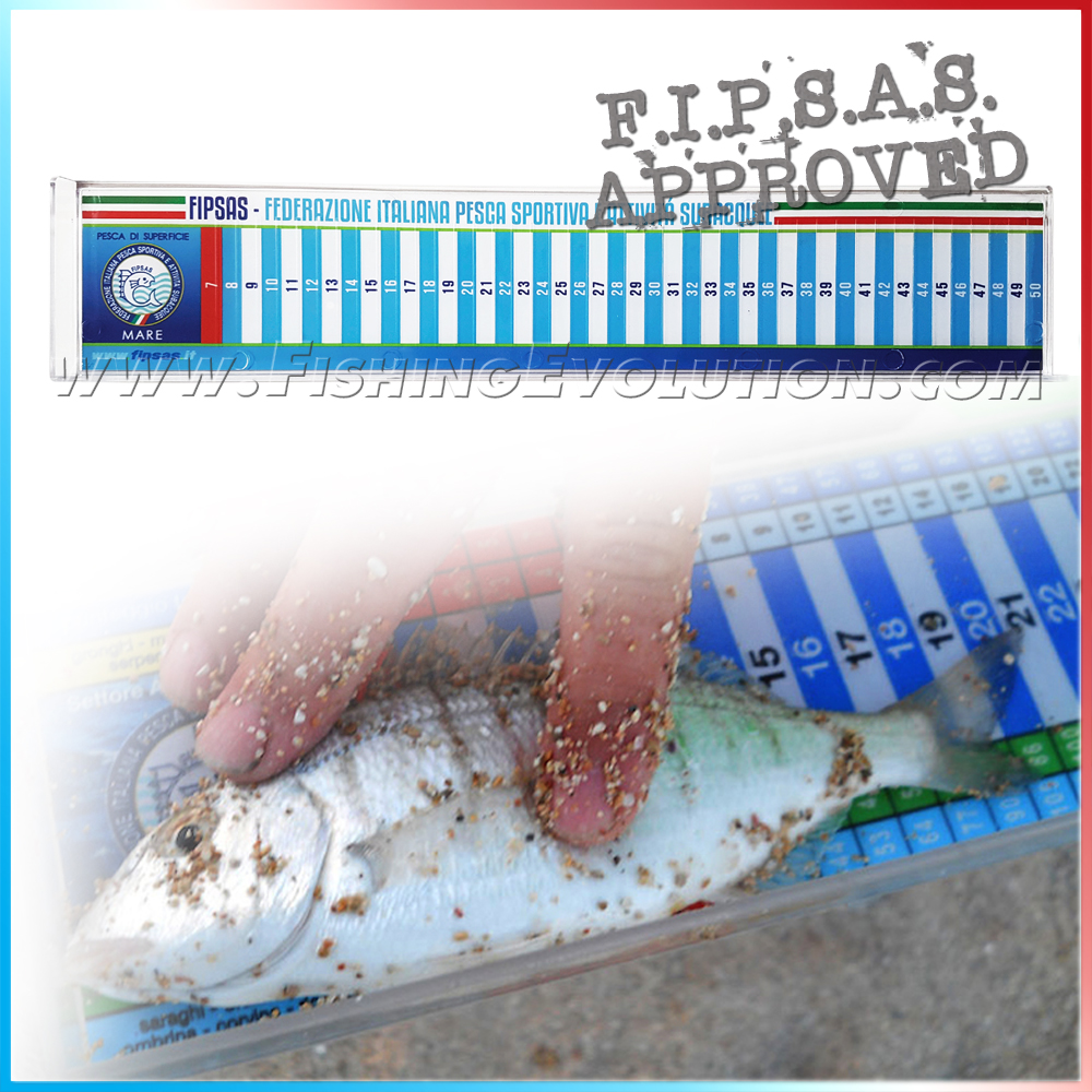 Pesciometro Ufficiale FIPSAS New 2018