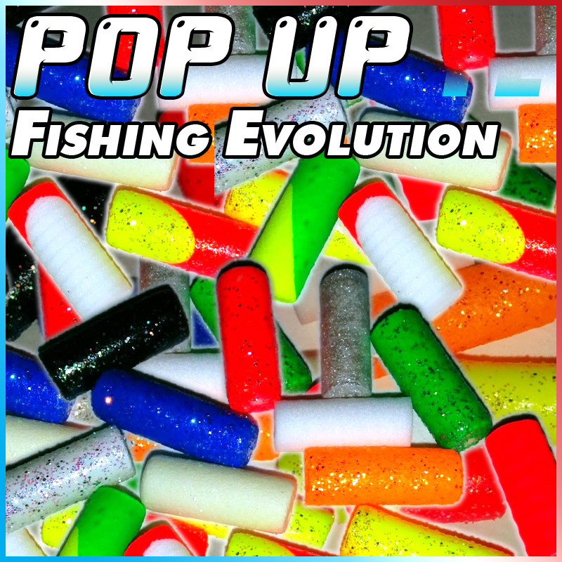 Pop Up Fishing : Fishing evolution shakespeare rubber stopper grandi in