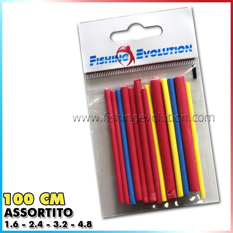 Fishing evolution Termorestringente 100 cm colori assortiti