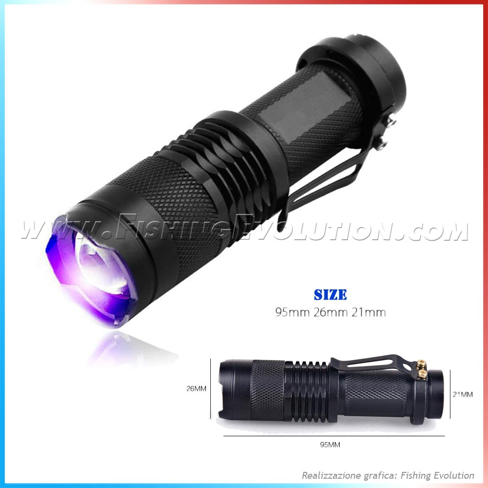 Torcia Cree Led Uv NM395
